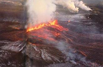 laki volcano volcan